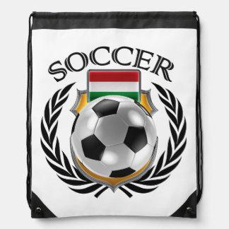 ハンガリーのサッカー2016ファンのギア ナップサック
