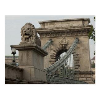 ハンガリーのブダペストの首都。 歴史的な2 ポストカード