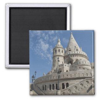 ハンガリーのブダペストの首都。 Budaの城2 マグネット
