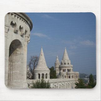ハンガリーのブダペストの首都。 Budaの城 マウスパッド
