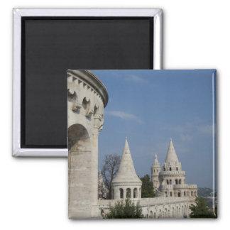 ハンガリーのブダペストの首都。 Budaの城 マグネット