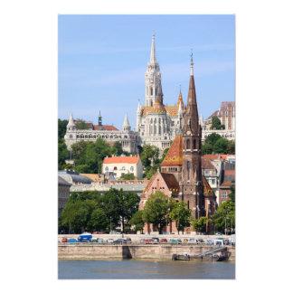 ハンガリーのブダペスト市 フォトプリント
