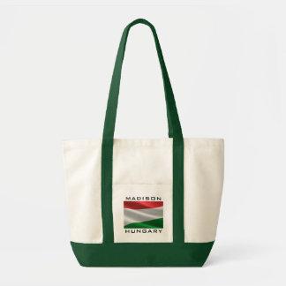 ハンガリーの旗のカスタムな文字のトートバック トートバッグ