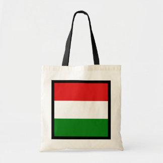 ハンガリーの旗のバッグ トートバッグ