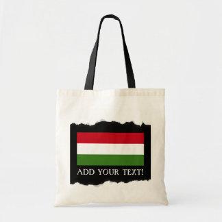 ハンガリーの旗 トートバッグ