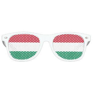 ハンガリーの旗 レトロサングラス