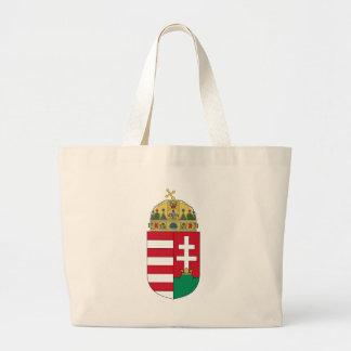 ハンガリーの紋章 ラージトートバッグ