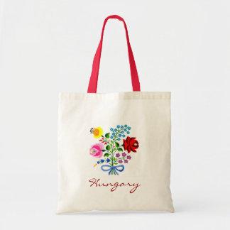 ハンガリーの花のトート トートバッグ