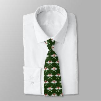ハンガリーのMagyarのホッケーのロゴのネクタイ オリジナルネクタイ