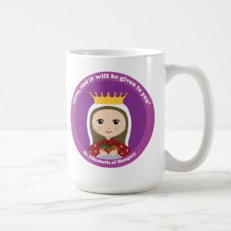 ハンガリーのSt.エリザベス コーヒーマグカップ