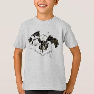 ハンガリー人のHorntailのドラゴン Tシャツ