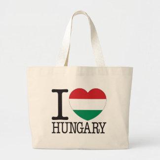 ハンガリー愛v2 ラージトートバッグ