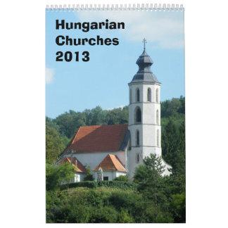 ハンガリー教会カレンダー2013年 カレンダー