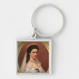 ハンガリー語のババリアの皇后エリザベス キーホルダー