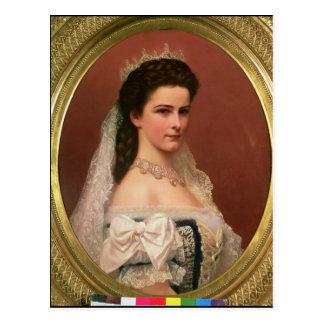 ハンガリー語のババリアの皇后エリザベス ポストカード
