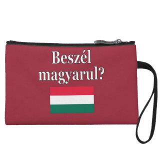 ハンガリー語を話しますか。 ハンガリー語。 旗 クラッチ