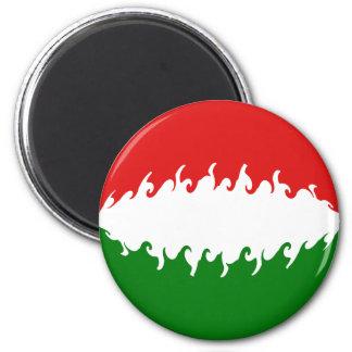 ハンガリー|すごい|旗 マグネット