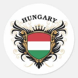ハンガリー ラウンドシール