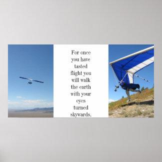 ハンググライダーポスター ポスター