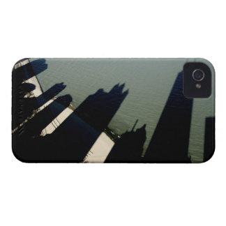 ハンコックタワーおよびアパートの影 Case-Mate iPhone 4 ケース
