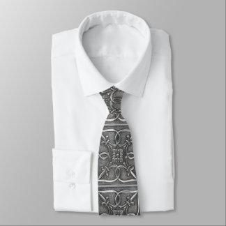 ハンサムでエレガントな銀製のケルト結び目模様の父の日 ネクタイ