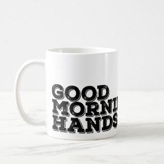 ハンサムなおはよう! コーヒーマグカップ