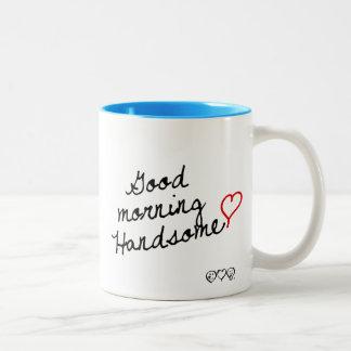 ハンサムなおはよう! ツートーンマグカップ