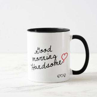 ハンサムなおはよう! マグカップ