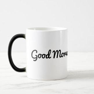 ハンサムなおはよう マジックマグカップ