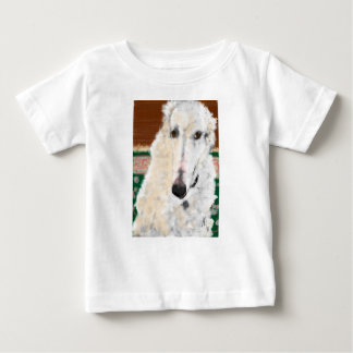ハンサムなボルゾイ ベビーTシャツ