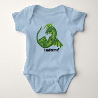ハンサムな赤ん坊のドラゴンのボディスーツ2 ベビーボディスーツ