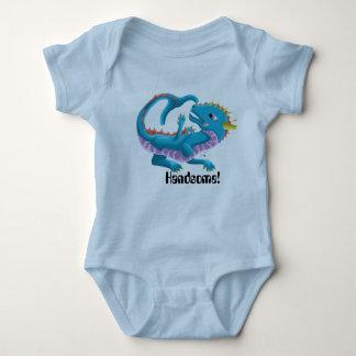 ハンサムな赤ん坊のドラゴンのボディスーツ ベビーボディスーツ