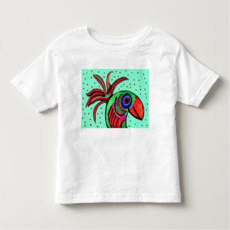 ハンサムな鳥の幼児のティー トドラーTシャツ