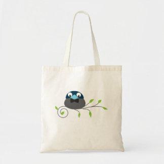 ハンサムな鳥 トートバッグ