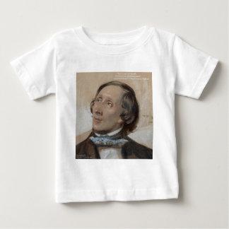 """ハンス・クリスチャン・アンデルセンの""""日光の自由""""のギフト ベビーTシャツ"""