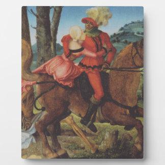 ハンズBaldung著騎士、死および女の子 フォトプラーク