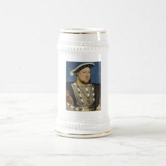ハンズHolbein著イギリスのヘンリー八世のポートレート ビールジョッキ