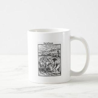 ハンズHolbein著Plowmanより若いの コーヒーマグカップ