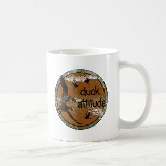 ハンターのためのアヒルの態度 コーヒーマグカップ