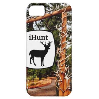 ハンターのためのiHuntのシカのオオシカの(雄ジカの)枝角のiPhone 5の場合 iPhone SE/5/5s ケース