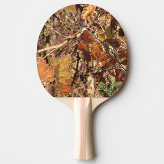 ハンターのカムフラージュの絵画の装飾 卓球ラケット