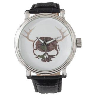 ハンターのスカルの腕時計 腕時計