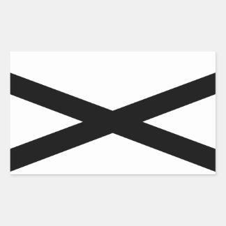 ハンターの斧 長方形シール