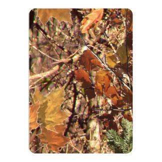 ハンターの森林カムフラージュの絵画はこれをカスタマイズ カード
