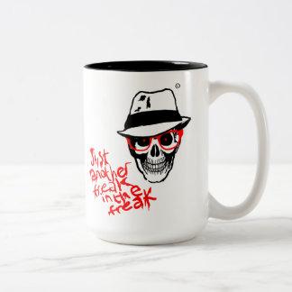 ハンターの死んだトムソンのマグ ツートーンマグカップ