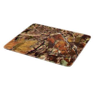 ハンターの秋の自然のカムフラージュの絵画の装飾 カッティングボード