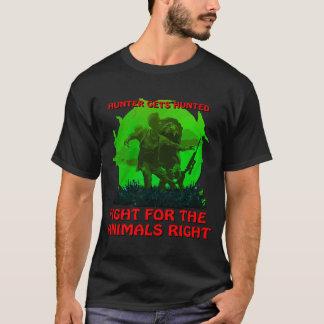 ハンターは捜されて得ます Tシャツ