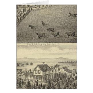 ハンター、Dornbergerの住宅 カード