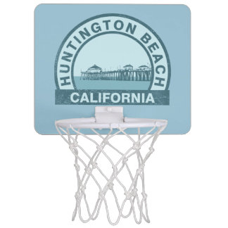 ハンチングトンビーチ、カリフォルニア ミニバスケットボールゴール