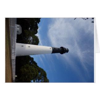 ハンティントンの島の灯台 カード